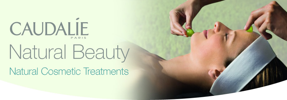 caudalie natural beauty treatments now available at Allure Clinic